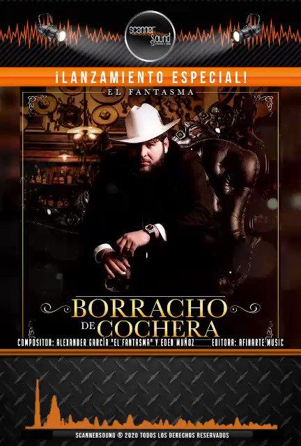 Borracho de Cochera  @elfantasmaoficial  #lomasnuevo @afinartemusic   #CamposRecords #CDRecords #musica #regional #elfantasma pic.twitter.com/3FQbTbhn4A