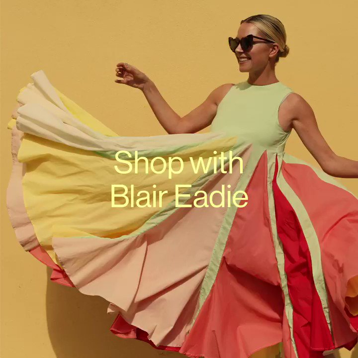 Image for the Tweet beginning: Blair Eadie of fashion site
