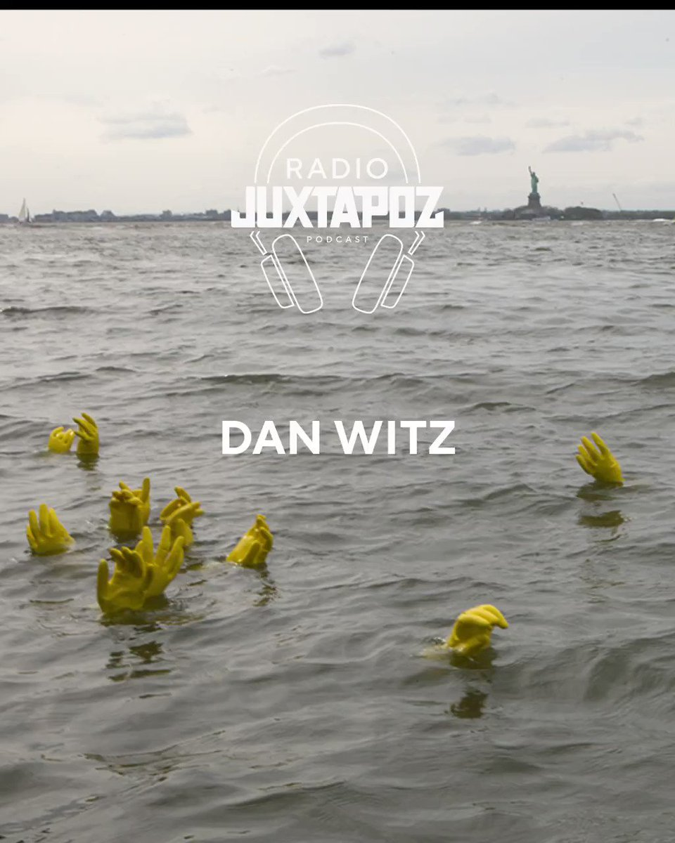 Mosh pits and hummingbirds, a career spanning conversation with #DanWitz on the newest #RadioJuxtapoz podcast https://t.co/4dlIHzzGQ0 https://t.co/YhPAVn5ykH