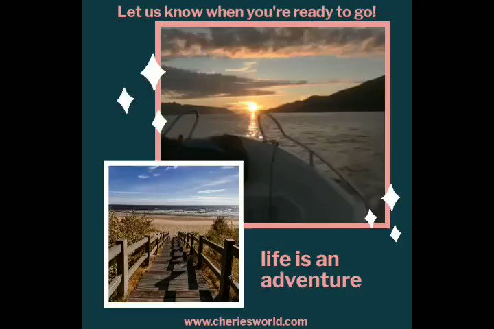 Life is an #adventure, and we want to help you take those unforgettable #journeys safely. Contact us to help you plan your next #getaway. . . #CheriesWorld #TravelWithCheriesWorld #BeSafe #Explore #SeeTheWorld #TheBeautyOfOurWorld #LetsGoSomewhere pic.twitter.com/oAopcBwuZb