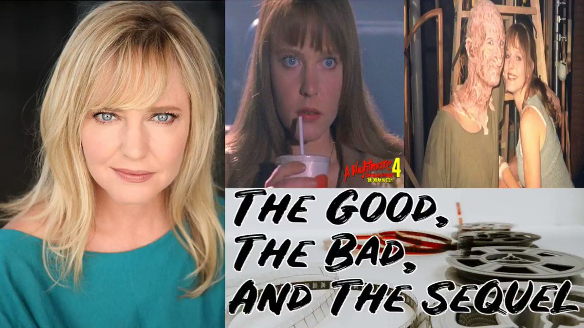 Let's kick #Mondays ass like #Alice kicks #FreddyKrueger s in #NightmareonElmStreet 4/5. Listen to our #interview with #actress and all around awesome individual #LisaWilcox. We talked the #Billandted #tv show, #StarTrek, and so much more. Link ->  #podcast
