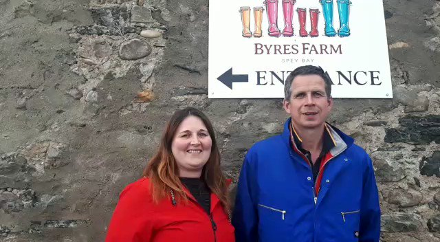 Image for the Tweet beginning: Another Byres Farm trailer video