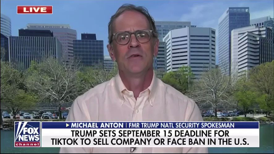 The US needs to be focused on scaling back Chinese influence in the US, not letting it grow. Michael Anton on @FoxNews