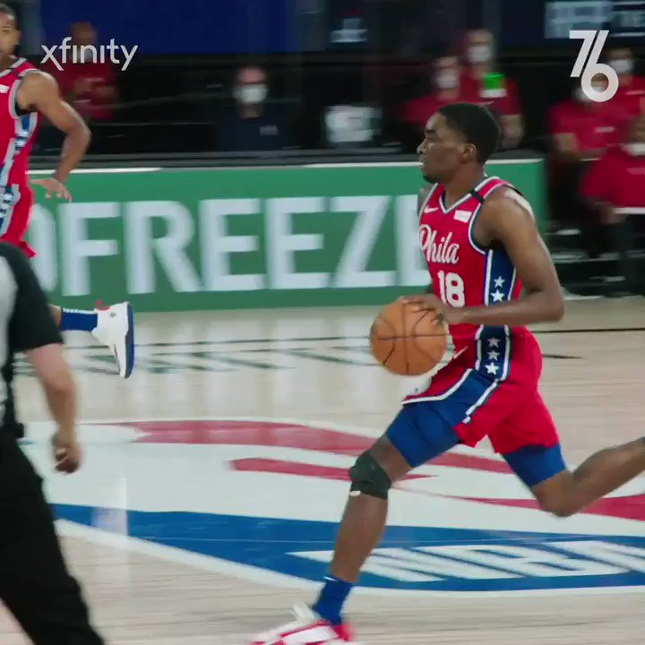 They don't call him @SniperShake for nothing. 🎯  #Summer76 | @Xfinity https://t.co/NOMHtXDkVN