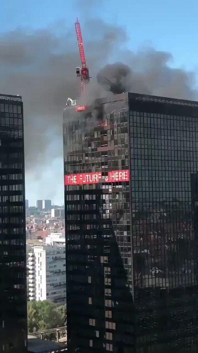Image for the Tweet beginning: 🔥 Otro incendio más, hace