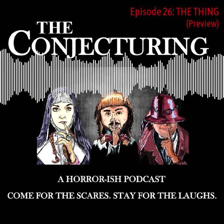 Episode  now Live!  The gang reviews 1982's  THE THING   Here's a little preview!   Find us on all favorite platforms!  https://allmylinks.com/conjecturingpod  #Horror #MovieReview #HorrorMovies #HorrorFam #Podnation #sharethescreams #SpreadTheHorror #NonprofitHorrorpic.twitter.com/FXdY0ZQ7a5