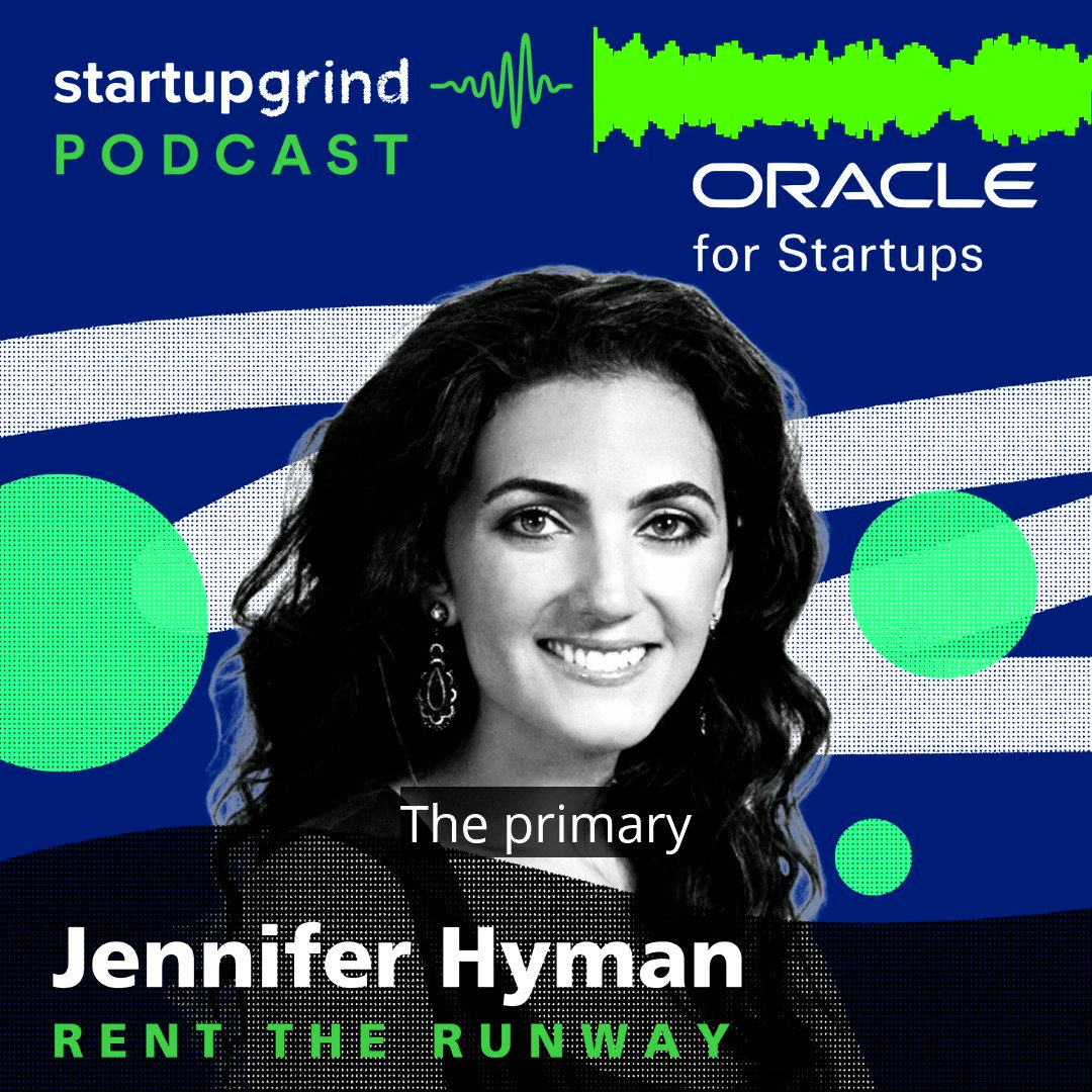 Jennifer Hyman is no stranger to Startup Grind.   @Jenn_RTR, CEO and co-founder of @RenttheRunway, graced our stage at Global and now she's on our latest podcast episode! As you can tell, we can't get enough of this female unicorn founder. Listen more here https://t.co/ohLSyaO4Xr https://t.co/WSJMJobxOI
