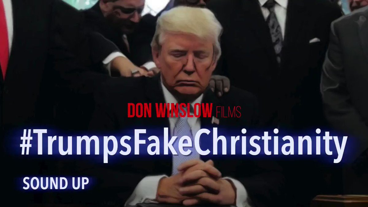 MY NEW FILM SHORT #TrumpsFakeChristianity Donald Trump uses God the way he uses everyone else.