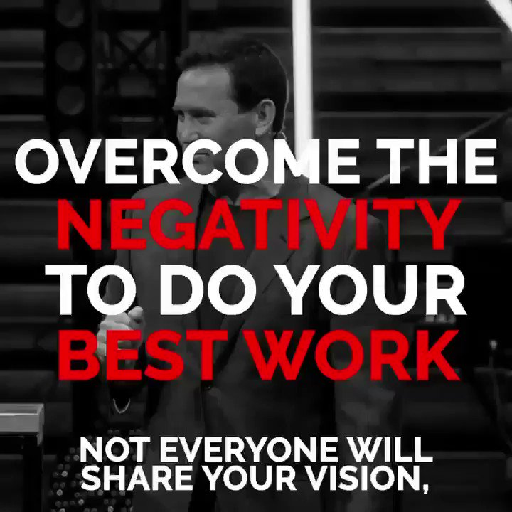 Feed the Positive and Weed the Negative to do your best work. Don't let negativity sabotage you and your team.