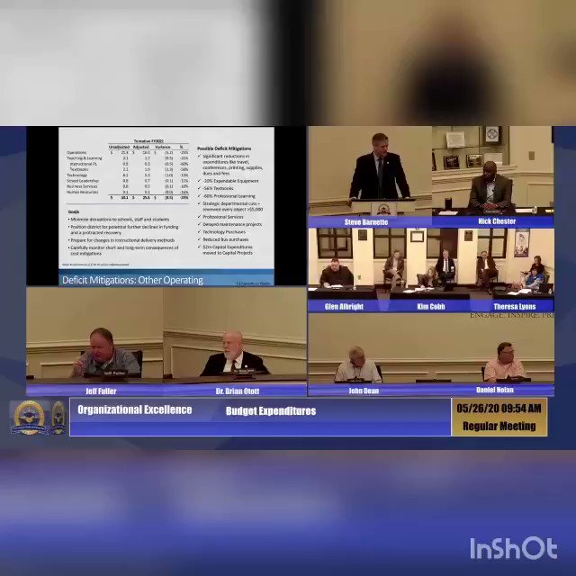 I was just sent this video of the chair of the Paulding County Board of Education stating: 1. He wanted to see Paulding County schools open up & Go back to normal. 2.The CDC guidelines are complete crap. 3. He seems to imply that students wont be hurt if they catch Covid.