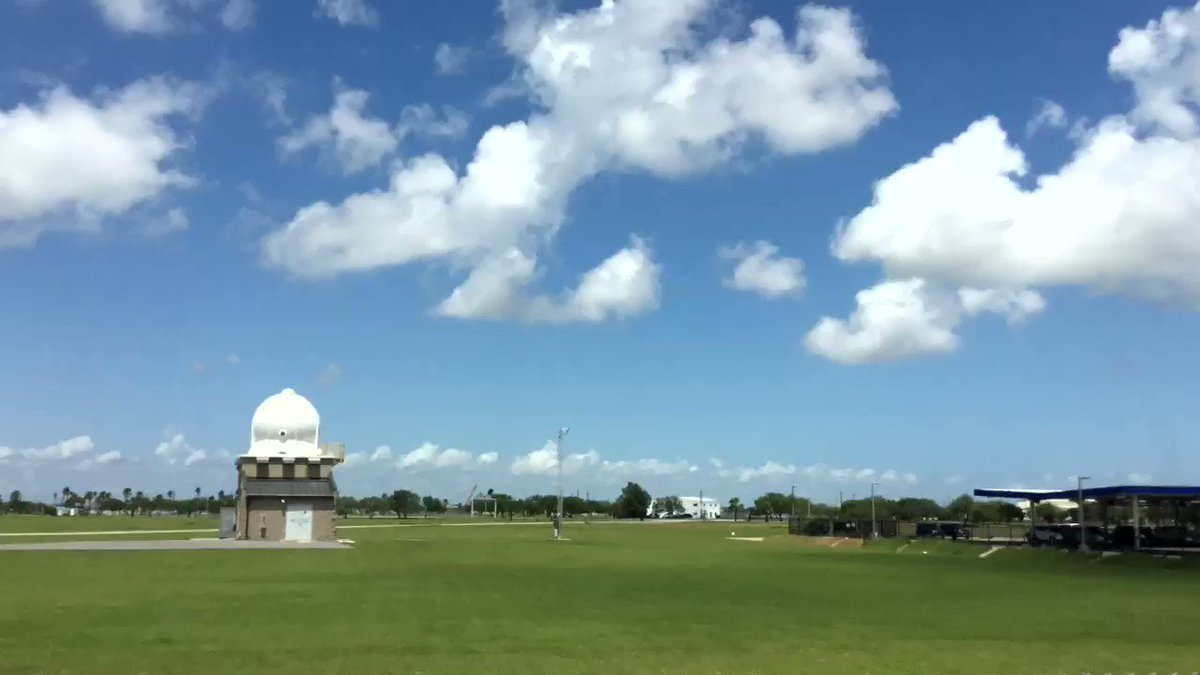 We decided to capture a time lapse this afternoon into the evening of fair weather cumulus rolling in on this beautiful day! 😊☁️ Can you catch our balloon launch!? 🎈 #txwx #stxwx