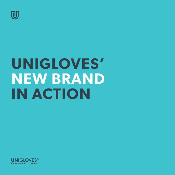 Unigloves | New brand design in action Unigloves launched its new brand in March of this year. It's great to see the new look in action across our UK offices and being sported by the Unigloves team! https://bit.ly/3a0sjYE #Unigloves #Industrial #Healthcare #PPE #KeepingYouSafepic.twitter.com/ynumdtQcbt