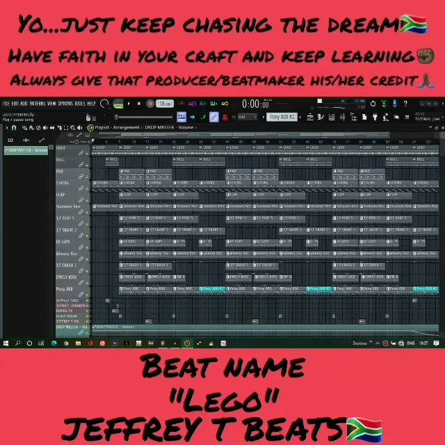 Yo...just keep chasing the dream  Beats on sale just hit my DM   #ANCMustFall #Verzuz #fridaymorning #Jabulujule #TheMorningFlava #COVID19 #beats #music #rappers #imakebeats #producer #traplife #trapmusic #YMornings   JEFFREY T BEATSpic.twitter.com/2N3yWx5bK7