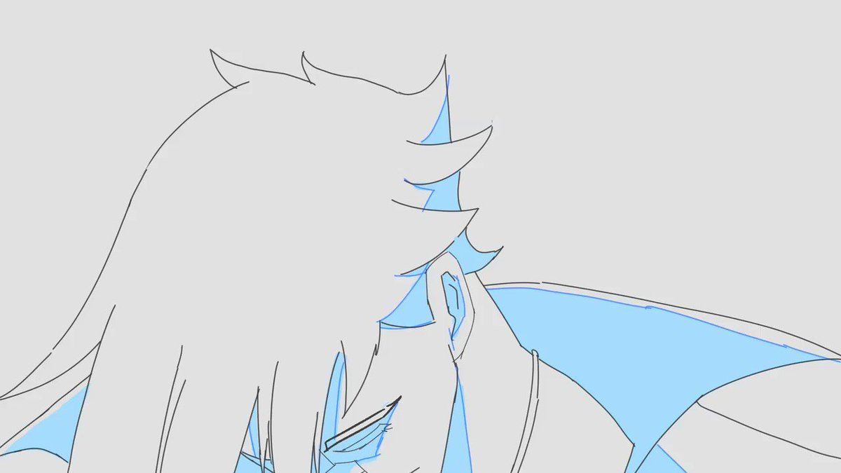 Heres my rough animation for Nima! Thanks @alaylays and @Rossdraws for the opportunity to animate on this project! Cleaned up by @aikenbacons and @colshio