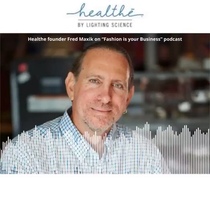A few weeks ago, Healthe founder Fred Maxik appeared on @fashionbizshow podcast to discuss how Healthe's Far-UVC 222 nm products are great fit to inactivate coronavirus pathogens in retail stores  LISTEN below, then read & listen to more by clicking here: https://t.co/o7byQ4LGYx