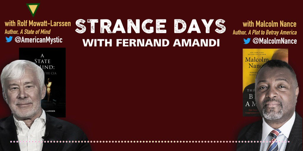 Are former U.S. intelligence officials as outraged by #TrumpsGestapo secret police as we are? Ex @CIA officer Rolf Mowatt-Larssen aka @AmericanMystic + ex @USNavy Chief @MalcolmNance offer stark warning in this #StrangeDaysPodcast excerpt👇🏼 Full episode👉🏼soundcloud.com/user-512595391…
