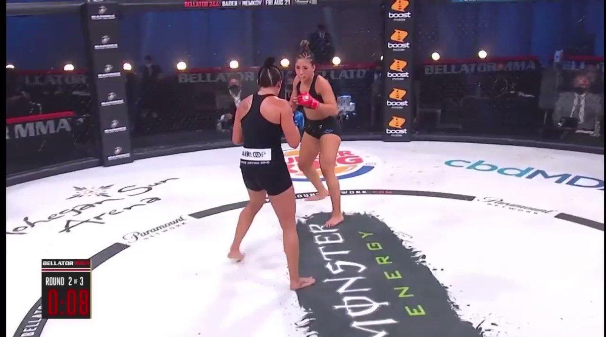Valerie Loureda's second round TKO  https://t.co/6JWGrwdTcN