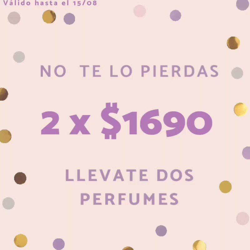 Pedí ahora tu combo, tenemos el catálogo a tu disposición y toda nuestra atención, no dudes en consultarnos! . . . #aroma #perfume #fragancia #promo #combo #BuenosAires #Argentina #armani #pacorabanne #dior #ch #carolinaherrera #boss #lancome #ninaricci https://t.co/g2gGYLtF1L