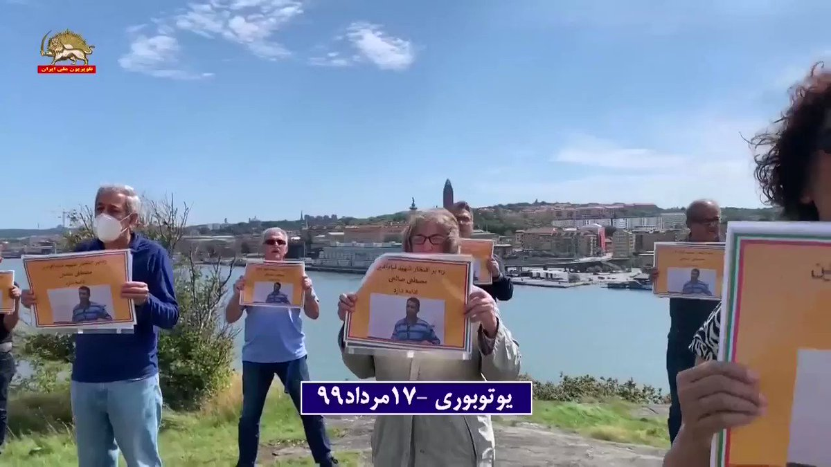 The leaders of #Iran's regime must bring to justice for every single crime they have committed against humanity, from the execution of 30,000 political prisoners in the #1988Massacre to #MostafaSalehi. The wish of Iranians in #Gothenburg #StopExecutionsInIran  @USAmbUN @SecPompeopic.twitter.com/9cuHCgzHSo