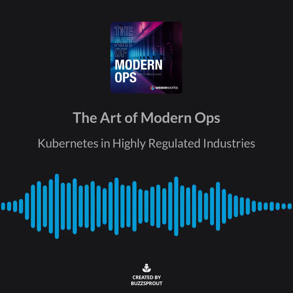 What does DevOps for Kubernetes development look like in a highly regulated environment, such as @BlackRock? Tune in to our latest podcast 🎧 with Mike Bowen and @cdavisafc on cloud native patterns used to control #K8S. bit.ly/3a0mNpb