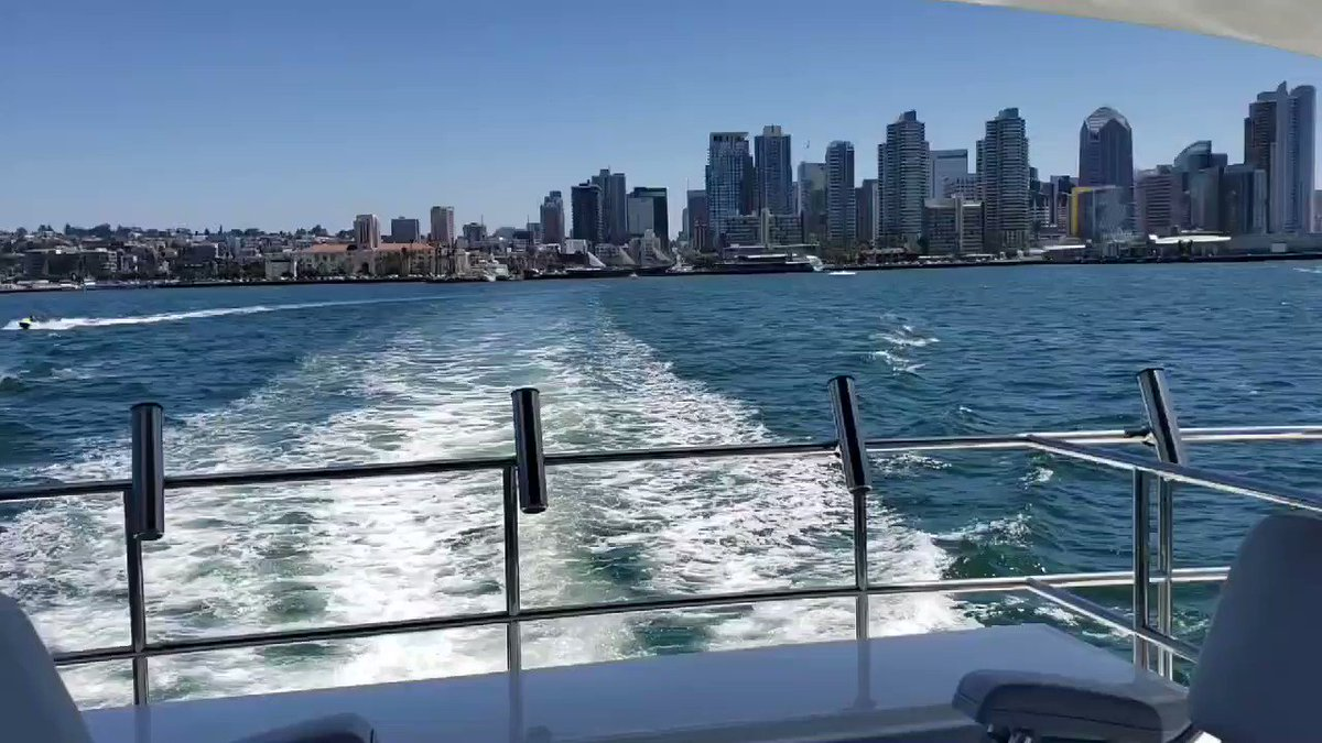 Headed out to sea. #boatlife @visitsandiegopic.twitter.com/tcPWC6XSZO – at City of San Diego