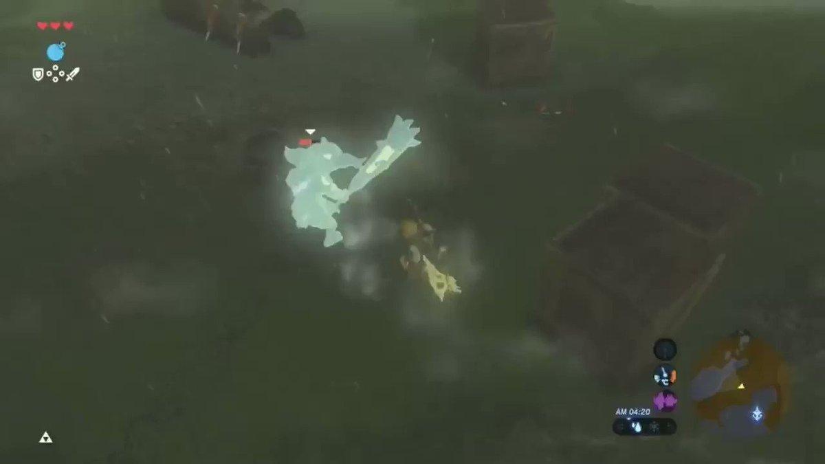 #Zelda #BotW