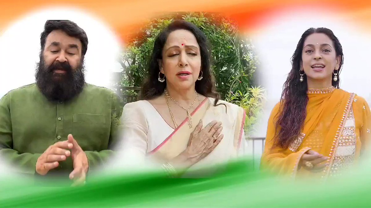 Honored 💕 & Grateful to be a part of this soulful rendition dedicated to our country releasing this Independence Day 😇  A Subramaniam foundation initiative https://t.co/MvvFdsJ4dx