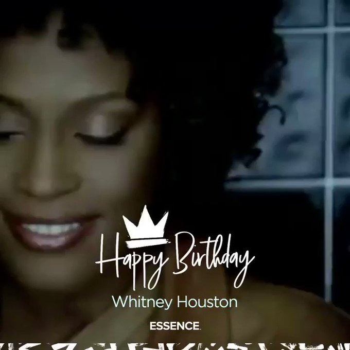 Happy birthday to the one and only Whitney Houston