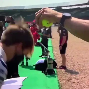 Reaction test on a F1  driver 🏎  https://t.co/ZhU2nzhO7A