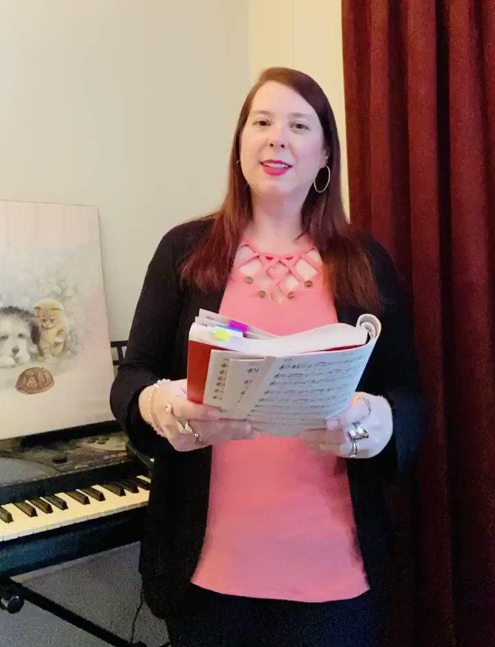 "Singing ""God Has Chosen Me"" for you today. #proudtobeLBUSD #keywomeneducators"
