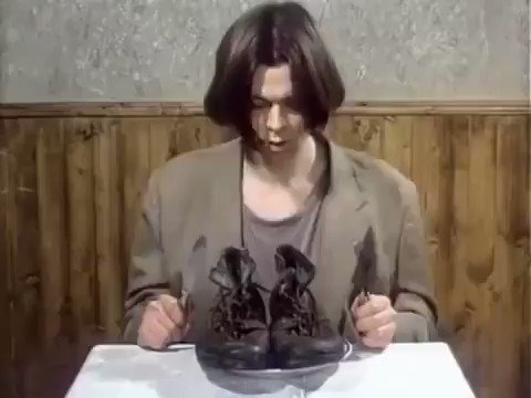 """""""Food is a 1992 Czech animated short film directed by Jan Švankmajer that uses claymation and pixelation. It examines the human relationship with food by showing breakfast, lunch, and dinner."""" https://t.co/UMpCdygPjY"""