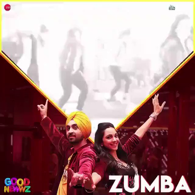 Make way for the Batras, giving us all the #MondayMotivation we need! @akshaykumar #KareenaKapoorKhan @diljitdosanjh @advani_kiara bit.ly/Zumba-Song #GoodNewwz #ZumbaSong