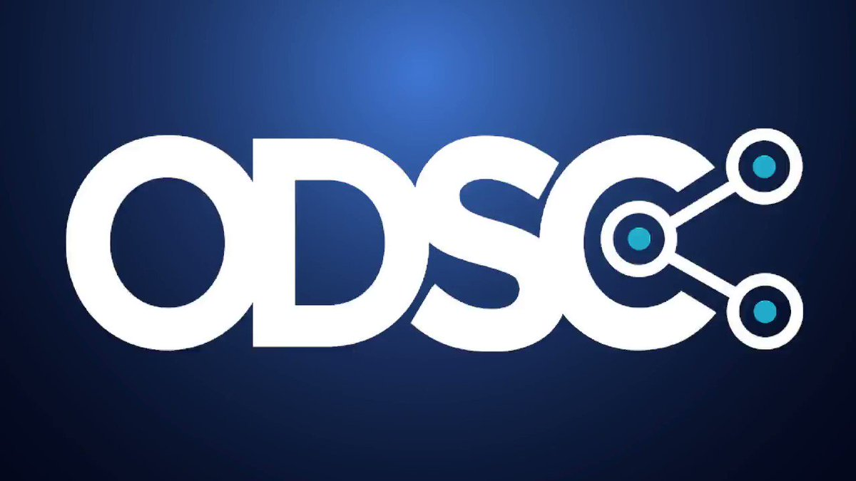 Image for the Tweet beginning: Attend ODSC Europe, the only