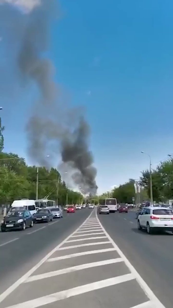 WATCH: Massive explosion rips through gas station in southwest Russia; at least 13 injured https://t.co/6oA2vdYf42