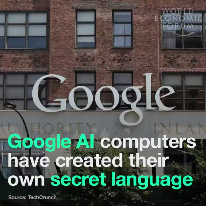 Image for the Tweet beginning: Google #AI computers have created