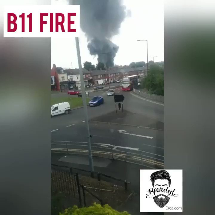 Bearded Broz - massive #fire B11 #Birmingham Electrics have gone off in certain parts of Birmingham and people reporting smell of burning rubber #News #Breaking #BeardedBroz https://t.co/sMOuJdHgB8