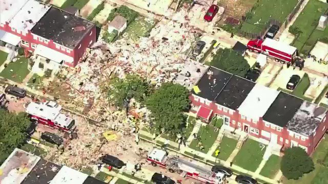 Image for the Tweet beginning: 🔴 Una explosión en #Baltimore,