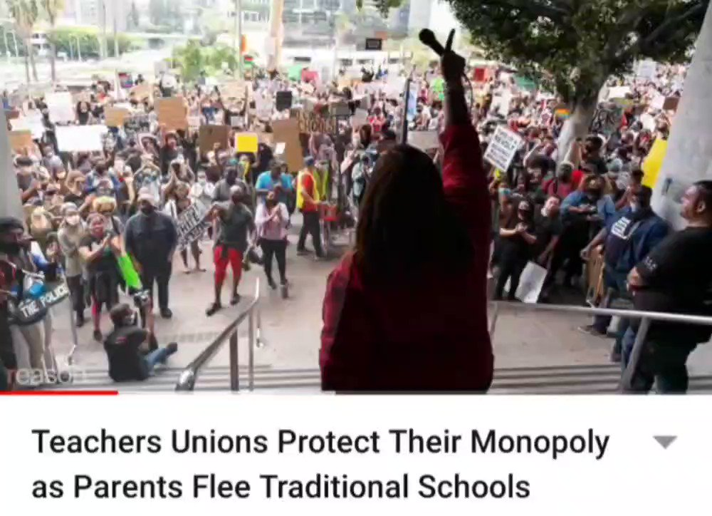 New @Reason video on teachers unions protecting their monopoly