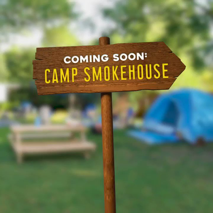 Image for the Tweet beginning: The name is Camp Smokehouse.
