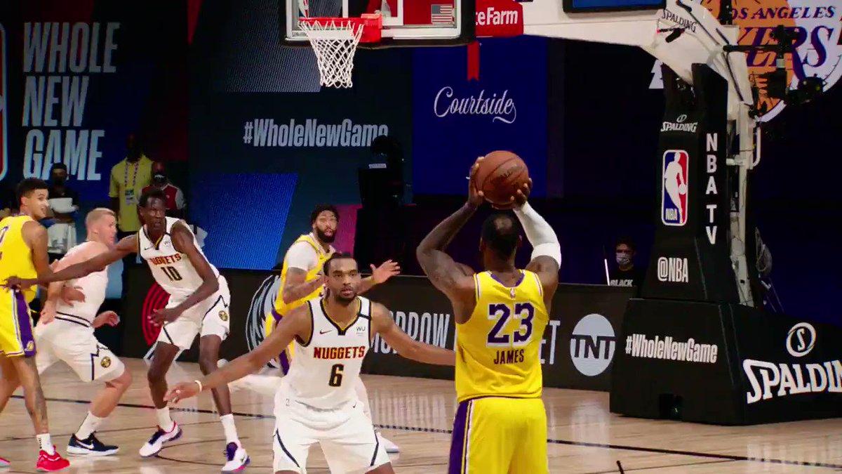 KUZ CONTROL Double exclamation mark  @kylekuzma wins it for the @Lakers in #PhantomCam! #WholeNewGame https://t.co/RGg08VI1VL