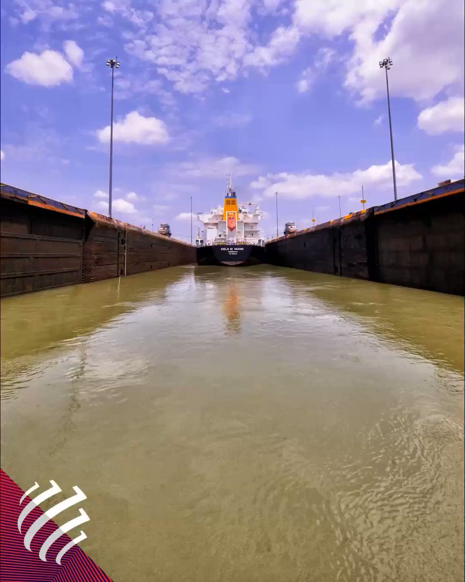 The #PanamaCanal has marked an epochal change twice: first on 15August 1914 when it united Atlantic and Pacific, second in 2016 when those 80km developed into a new waterway which opened the door to the future of global era #WebuildPerspectives #Webuild https://bit.ly/3focahOpic.twitter.com/BL70P5XeXg