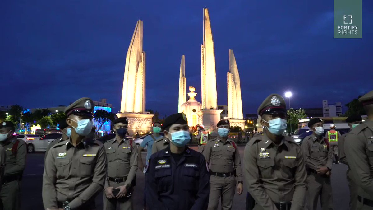 Pro-#democracy #FreeYouth rallies continue in #Thailand🇹🇭, despite arrests. Thai authorities should #ProtectFOE #ProtectFOA  Watch 📺👇 https://t.co/uav9SkSHI4