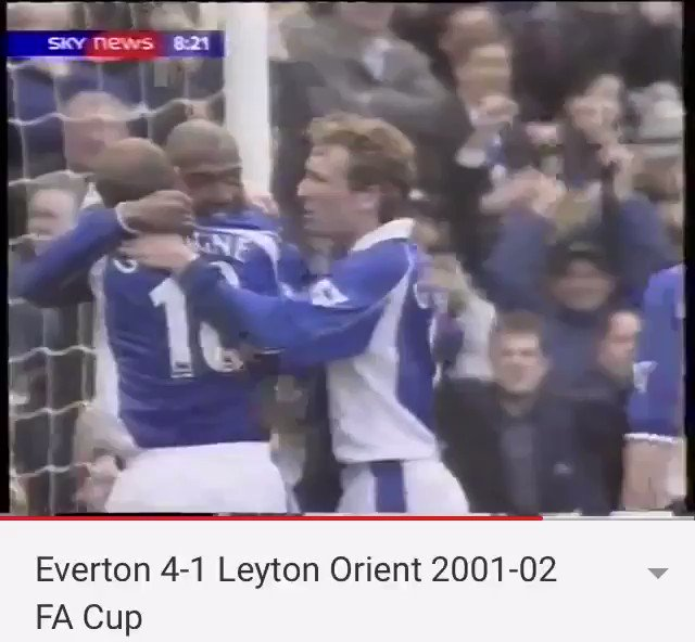 How good was Gazza that day, he had them up the wall 👏🏻 3 assists - including this for @1kevincampbell 👌🏻 #EFC