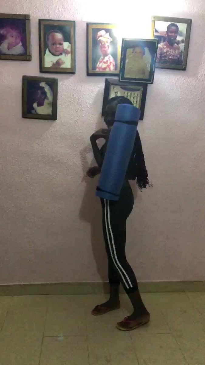 Come and buy yoga mat. Please retweet🙏🏿🙏🏿 it 8500.