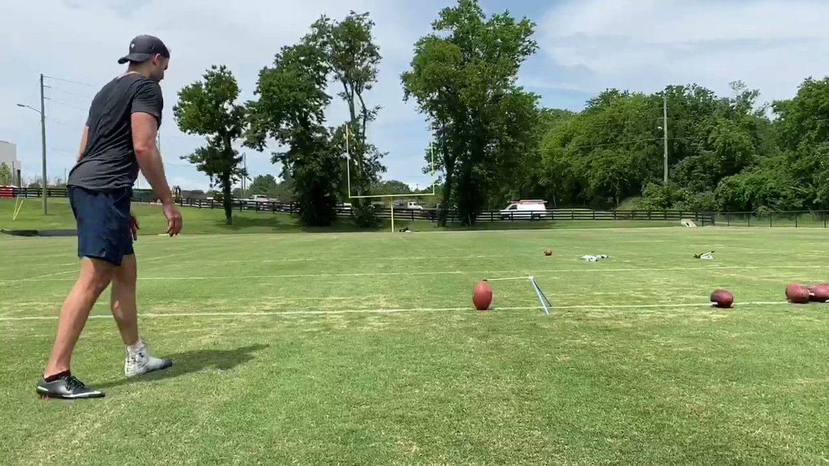 Image for the Tweet beginning: And with the NFL's tryout