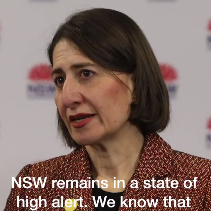 We need EVERYONE in NSW to step up and work extra hard in reducing the spread of the virus. NSW is in a state of high alert and we especially need people in South-Western and Western Sydney to come forward and get tested. https://t.co/XnpSaHAtpN