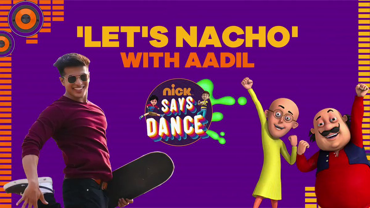 Bollywood dance karne ka chahiye chance? Toh Let's Nacho! #AadilKhan is here with #NickSaysDance! Record a video and tag @NickIndia!  #LetsNacho #Aadil #Dancing #NickDanceSquad #Toons #Bollywood #KapoorAndSons
