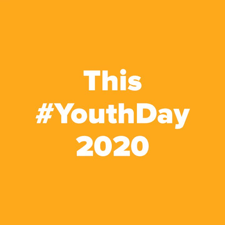 Image for the Tweet beginning: On #internationalyouthday a big shout
