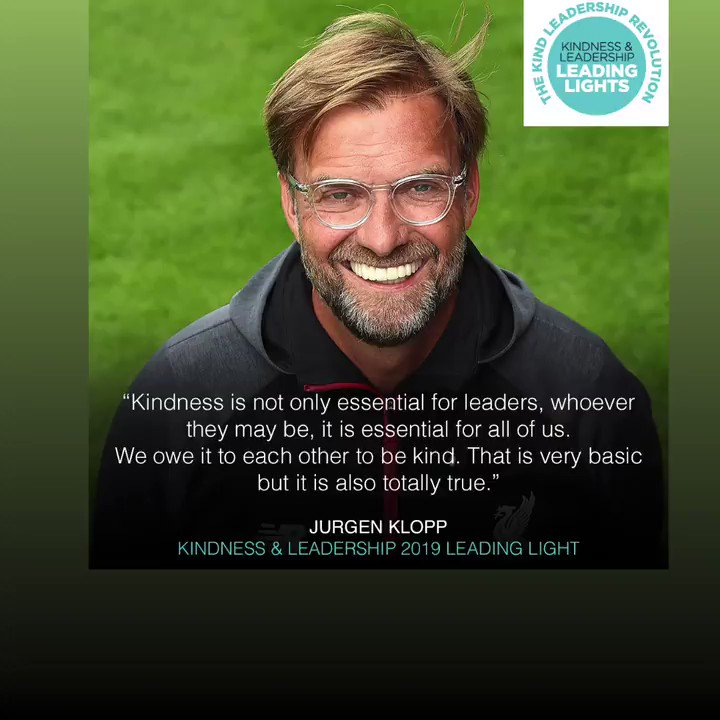 Last year Jürgen was one of the 50 Kindness Leaders, this year it could be someone you know 🙌  👉 Nominate now | https://t.co/2XYHtQu9wd