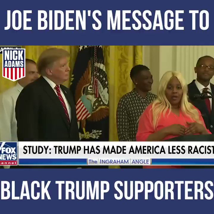 Remember what Joe Biden had to say about Black Americans who support @realDonaldTrump?